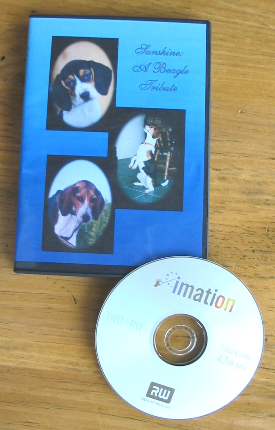 Moving Picture Pet Tribute DVD Slide Show